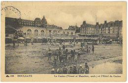 CPA HOULGATE - Le Casino ( Viraut Et Mauclerc , Arch. ) Et L'Hôtel Du Casino - Ed. CAP N°198 - Houlgate