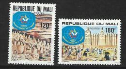 "Mali YT 390 & 391 "" Tourisme "" 1980 Neuf** - Mali (1959-...)"