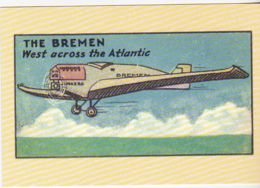 Postcard - Wischmann's Series - The Bremen West Across The Atlantic - VG - Postcards