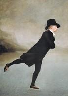 Postcard Rev Robert Walker Skating On Duddingston Loch By Sir Henry Raeburn [ National Gallery Scotland ] My Ref  B23241 - Paintings