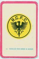 "Carte Miroir Sprint ""SHOOT"" : N°121 : Ecusson: R.C.F.C. BESANCON (4,5 X 7cm) - Trading Cards"