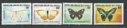 "Mali YT 392 à 395 "" Papillons "" 1980 Neuf** - Mali (1959-...)"