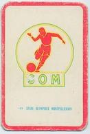 "Carte Miroir Sprint ""SHOOT"" : N°122 : Ecusson: S.O. MONPELLIERS (4,5 X 7cm) - Trading Cards"
