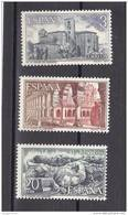 España Nº 2443 Al 2445 - 1971-80 Nuevos & Fijasellos