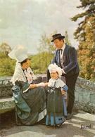 49. CPM. Maine Et Loire. Folklore De L'Anjou (enfants De Chalonnes, Coiffes De Coudray-Macouard, Costume Du Val De Loire - Chalonnes Sur Loire
