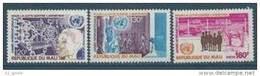 "Mali YT 297 à 299 "" Lutte Contre L'apartheid "" 1978 Neuf** - Mali (1959-...)"