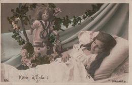 5420A  ENFANT   1906 TIMBRE VERSO      ECRITE - Cartes Humoristiques