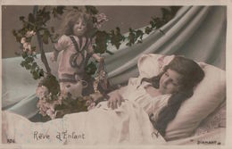 5420A  ENFANT   1906 TIMBRE VERSO      ECRITE - Humorous Cards