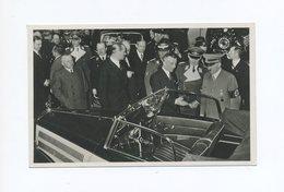 1938 3. Reich Photo Hoffmann Fotokarte Adolf Hitler + Göring Vor Mercedes Cabrio Auf Der IAA Automobilausstellung Berlin - Briefe U. Dokumente