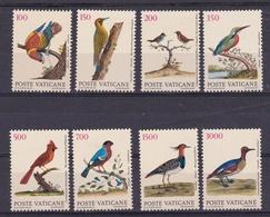1989 Vaticano Vatican UCCELLI  BIRDS Serie Di 8v. MNH** - Oiseaux