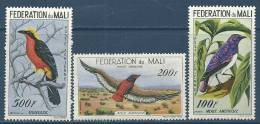 "Mali Aerien YT 2 à 4 (PA) "" Oiseaux "" 1960 Neuf** - Mali (1959-...)"