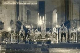 11 - Caunes Minervois - Intérieur De L'eglise Et Chasses Des Saints Martyrs - Autres Communes