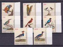 1989 Vaticano Vatican UCCELLI  BIRDS Serie Di 8v. MNH** - Non Classificati