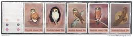 Norfolk Isl. 1984. Michel #339/43 MNH/Luxe. Birds. Morepork. (Ts17/02) - Ile Norfolk