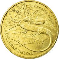 Monnaie, Pologne, Green Lizards, 2 Zlote, 2009, Warsaw, TTB, Laiton, KM:678 - Pologne