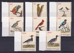 1989 Vaticano Vatican UCCELLI  BIRDS Serie Di 8v. MNH** - Vaticano