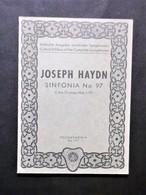 Musica Spartiti - Philarmonia No. 797 - J. Haydn - Sinfonia No. 97 - C-dur - Vecchi Documenti