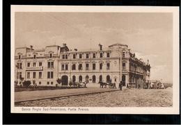 CHILE Punta Arenas Banco Anglo Sud- Americano  Ca 1915OLD POSTCARD 2 Scans - Cile