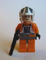 FIGURINE LEGO STAR WARS REBEL PILOT ZEV SENESCA Sw260 2010 - Figurines