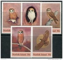 Norfolk Isl. 1984. Michel #339/43 MNH/Luxe. Birds (Ts17) - Ile Norfolk