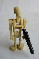 FIGURINE LEGO STAR WARS BATTLE DROID 1 Straight Arm 2007 - Figures