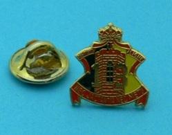 1 PIN'S //  ** RÉGIMENT DE LIGNE 13 / NEC JACTANTIA NEC METU / BELGIQUE ** - Army