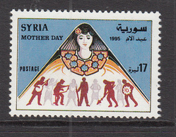 1995 Syria Mother's Day Set Of 1 MNH - Syrie