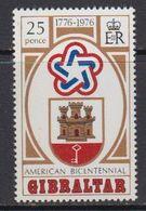 Gibraltar 1976 US Bicentennial 1v ** Mnh (41449D) - Gibraltar