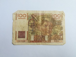 FRANCIA 100 FRANCHI - 1871-1952 Antiguos Francos Circulantes En El XX Siglo