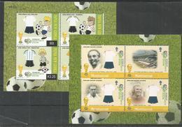 2 Pcs PAPUA NEW GUINEA - MONTSERRAT - MNH - Sport - Soccer - World Cup 2006 - Coupe Du Monde