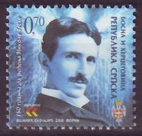 Bosnia - Republic Of Srpska, 2006, Nikola Tesla, Set, MNH, Mi# 379 - Bosnia And Herzegovina