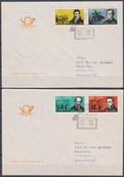 DDR FDC 1963 Nr.952 - 955 Berühmte Deutsche Schriftsteller Und Opernkomponisten ( D 6434 )günstige Versandkosten - FDC: Briefe