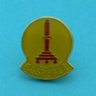 1 PIN'S //  ** CGSP- ALE / LIÈGE / BELGIQUE ** - Police