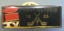 GOLF CLASSIC -  Vintage Pin, Badge, Abzeichen - Golf