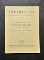Musica Spartiti - Johann Sebastian Bach - Cantata For The First Advent BWV 36 - Vecchi Documenti