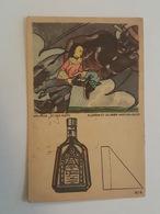 Les Mille Et Une Nuits - Aladdin Et La Lampe Merveilleuse - Carte à Système Découpage - Pub Tisane Des Chartreux Drubon - Contes, Fables & Légendes