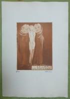RARISSIME - Plaquette De 10 Ex-libris EROTIQUES Gravés Par TILMANS - Ex Libris