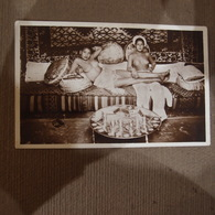 CPA  Femmes Seins Nus Casablanca Le Thé Au Quartier Réservé Prostitution - Décor Oriental