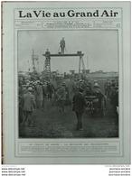 1908 COURSES AUTOMOBILE GRAND PRIX DE L´A . C . F CIRCUIT DE DIEPPE - GOLF DE LA BOULIE - GP DE L´ U. V. F - Journaux - Quotidiens