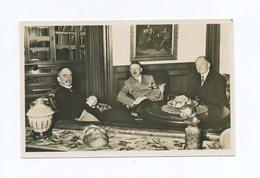 1938 3. Reich Sudetenland Fotokarte Viermächteabkommen Hitler Mit Chamberlain In Seiner Privatwohnung In München - Sudetenland