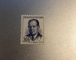 MiNr. 816   Tschechoslowakei 1953, 18. Juli/1956, 10. Juli. Freimarken: Präsident Zápotocky'. StTdr.; MiNr. 816 A ( - Czechoslovakia