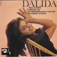 DALIDA  Viva La Pappa - Hene Ma Tov - Le Printemps Sur La Colline - La Sainte Totoche - Klassiekers