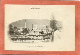 CPA - SAINT-ETIENNE-de-REMIREMONT (88) - Aspect Du Quartier Du Pont Le Prieur En 1900 - Ad. Weick - Saint Etienne De Remiremont