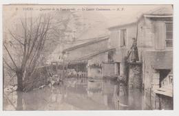 Tours, Quartier De La Fuye Inondé, Lavoir Coutenceau - Tours