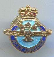 RCAF /  Royal Canadian Air Force Association, Vintage Pin, Badge, Abzeichen, Enamel - Army
