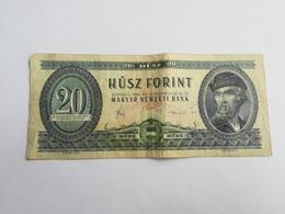 UNGHERIA 20 FORINT 1980 - Hongrie