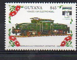 GUYANA. TRAINS. MNH (2R0407) - Eisenbahnen
