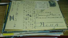 Cartolina:postale 1952 Viaggiata (a32) - Non Classificati