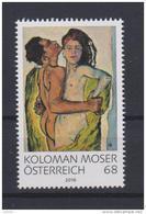 """Österreich 2016: """"Koloman Moser-Liebespaar"""" Postfrisch (siehe Foto/Scan) - 1945-.... 2de Republiek"""