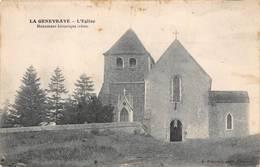 La Genevraye église Canton Nemours - France
